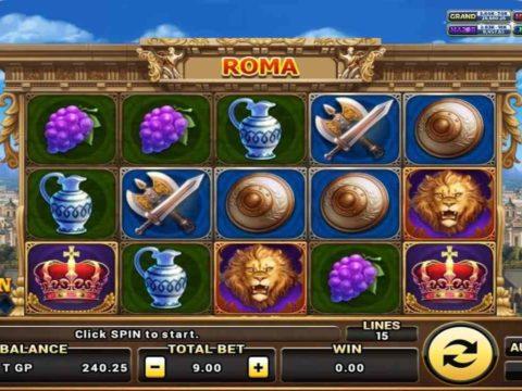 เกมสล็อต Roma เกมสล็อตมาแรง ปี 2021